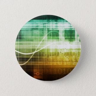 Bóton Redondo 5.08cm Protecção de dados e exploração da segurança do