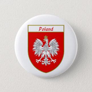 Bóton Redondo 5.08cm Protetor de Eagle do Polônia