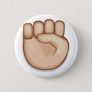 Bóton Redondo 5.08cm Punho aumentado Emoji