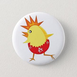 Bóton Redondo 5.08cm punk_rock_chicken_