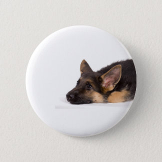 Bóton Redondo 5.08cm puppy german sheperd