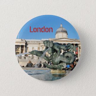 Bóton Redondo 5.08cm Quadrado de Trafalgar em Londres, Reino Unido