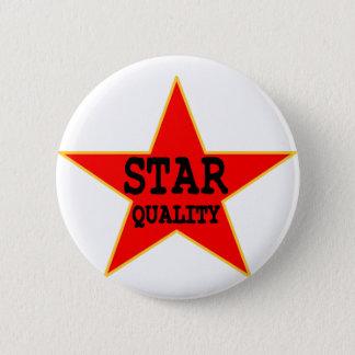 Bóton Redondo 5.08cm Qualidade da estrela