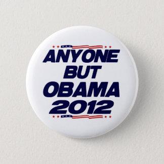 Bóton Redondo 5.08cm Qualquer um mas Obama 2012