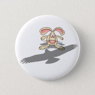 Bóton Redondo 5.08cm Que…? Botão dos desenhos animados do coelho