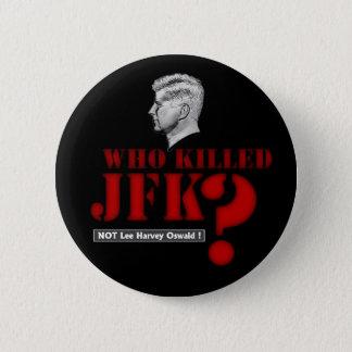Bóton Redondo 5.08cm Quem matou o presidente Kennedy?