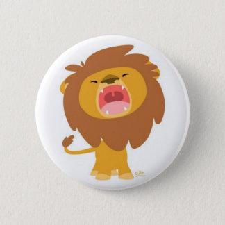 Bóton Redondo 5.08cm raorrr im um leão: D