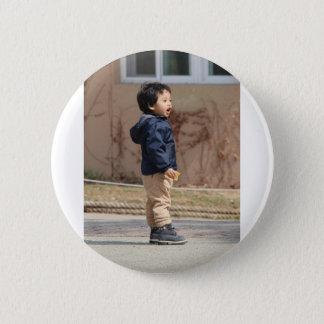 Bóton Redondo 5.08cm Rapaz pequeno