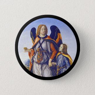 Bóton Redondo 5.08cm Raphael do santo de San Rafael