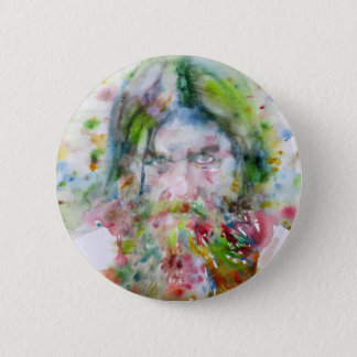 Bóton Redondo 5.08cm RASPUTIN - aguarela portrait.3