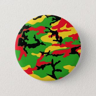Bóton Redondo 5.08cm Rasta coloriu a camuflagem