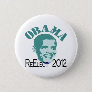 Bóton Redondo 5.08cm Re-elect Obama