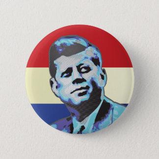 Bóton Redondo 5.08cm Recordando John F. Kennedy