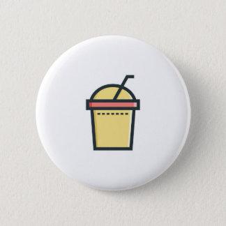 Bóton Redondo 5.08cm Refresco do café