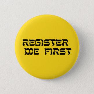 Bóton Redondo 5.08cm Registrar-me primeiramente: Botão da solidariedade