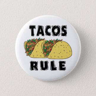 Bóton Redondo 5.08cm Regra do Tacos