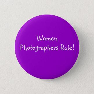 Bóton Redondo 5.08cm Regra dos fotógrafo das mulheres! - Botão