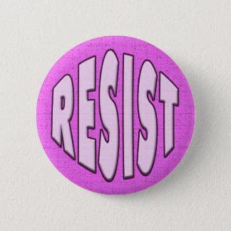 Bóton Redondo 5.08cm Resista - o botão cor-de-rosa