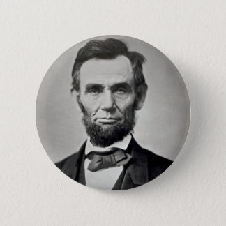 Bóton Redondo 5.08cm Retrato de Abraham Lincoln Gettysburg