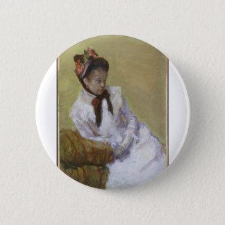 Bóton Redondo 5.08cm Retrato do artista - Mary Cassatt