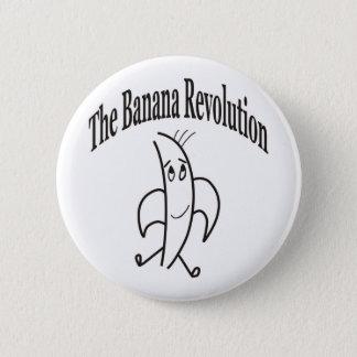 BÓTON REDONDO 5.08CM REVOLUÇÃO DA BANANA