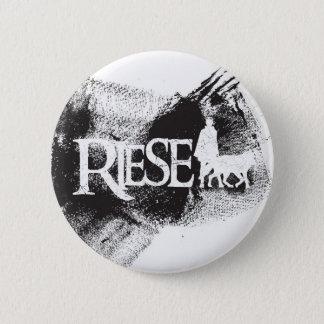 Bóton Redondo 5.08cm RIESE ++ Botão da aflição