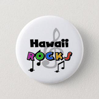 Bóton Redondo 5.08cm Rochas de Havaí