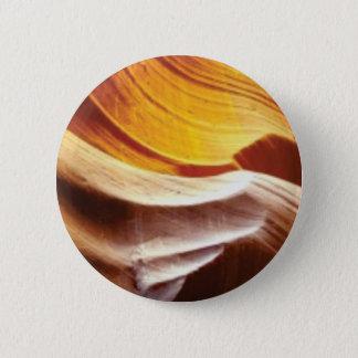 Bóton Redondo 5.08cm rochas tan do sol da laranja