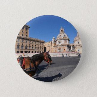 Bóton Redondo 5.08cm Roma, Italia