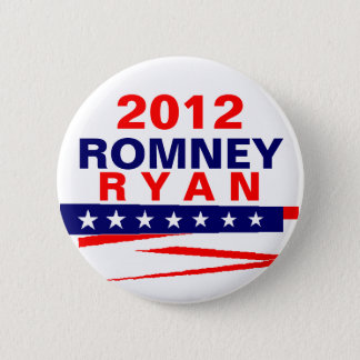 Bóton Redondo 5.08cm Romney Ryan 2012