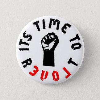 Bóton Redondo 5.08cm Ron Paul é hora de revoltar-se botão