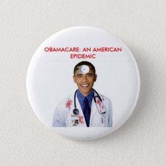 Bóton Redondo 5.08cm Roupa dos cuidados médicos de Obamacare anti Obama