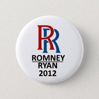 Bóton Redondo 5.08cm RR Romney Ryan '12