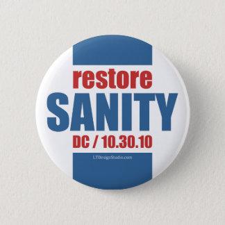 Bóton Redondo 5.08cm Sanidade da restauração - botão