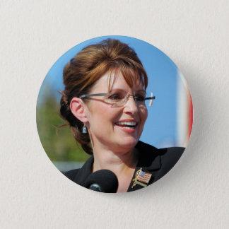 Bóton Redondo 5.08cm Sarah Palin