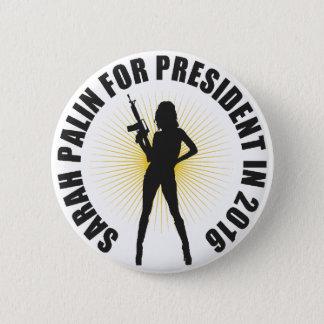 Bóton Redondo 5.08cm Sarah Palin 2016