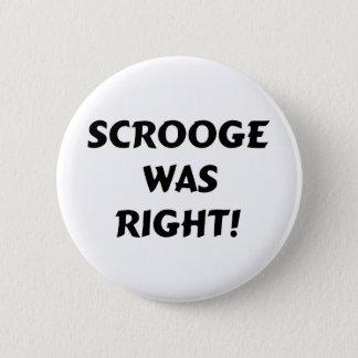 Bóton Redondo 5.08cm Scrooge era direito