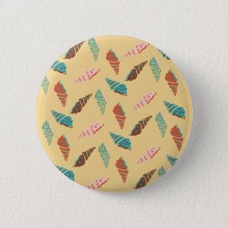 Bóton Redondo 5.08cm Seashell