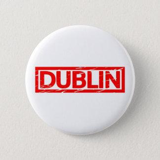 Bóton Redondo 5.08cm Selo de Dublin