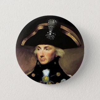 Bóton Redondo 5.08cm Senhor Horatio Nelson
