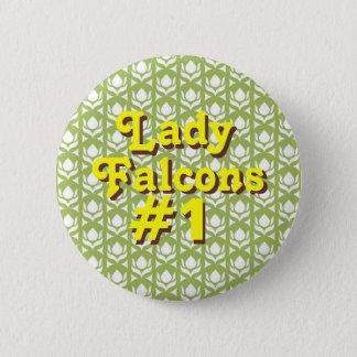 Bóton Redondo 5.08cm Senhora Falcons #1