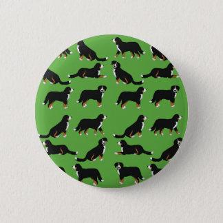 Bóton Redondo 5.08cm Sennenhund de Berna selecção