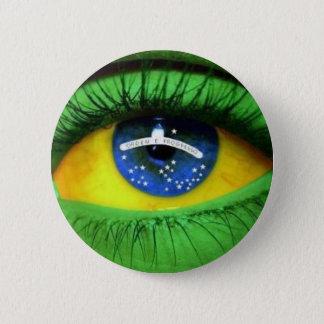 Bóton Redondo 5.08cm Serie Brasil