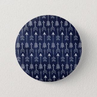 Bóton Redondo 5.08cm Seta azul