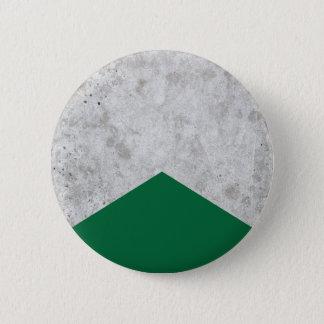 Bóton Redondo 5.08cm Seta concreta Forest Green #326