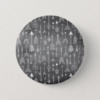 Bóton Redondo 5.08cm Seta do quadro (preto)