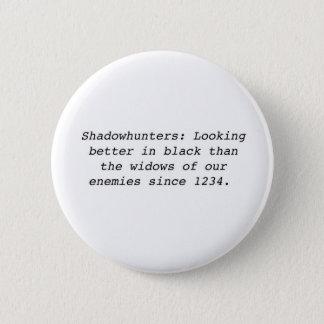 Bóton Redondo 5.08cm Shadowhunters