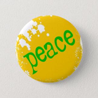 Bóton Redondo 5.08cm SHIRT_peace_yellow2