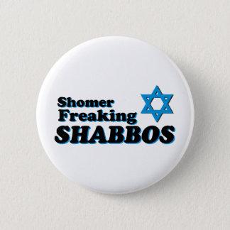 Bóton Redondo 5.08cm Shomer que Freaking Shabbos