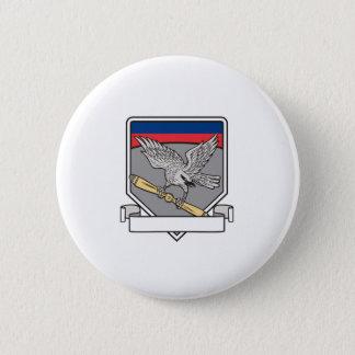 Bóton Redondo 5.08cm Shrike que embreia o protetor da lâmina de hélice